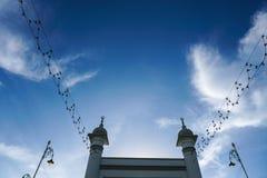 Masjid Zahir in Alor Setar-Stadt, Malaysia Stockfotos