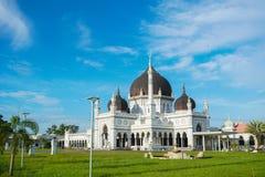 Masjid Zahir i den Alor Setar staden, Malaysia Arkivfoton