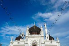 Masjid Zahir i den Alor Setar staden, Malaysia Royaltyfria Bilder