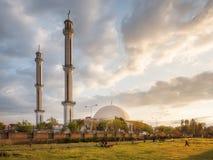 Masjid Zarghooni Hayatabad Peshawar - Paquistán imagen de archivo libre de regalías