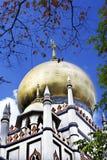 masjidmoskésultan Arkivfoton