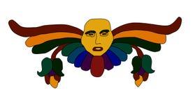 Mask. Colorful mask for design stock illustration