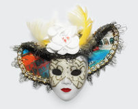 Mask. Venetian souvenir, colourfull mask, isolated object Royalty Free Stock Photo