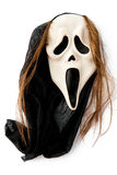 Mask. A Halloween mask isolated on the white Stock Photos