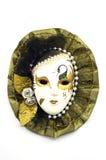 Mask. Old venetian mask over white Stock Photo