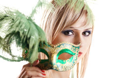 From the mask Royalty Free Stock Photos
