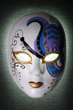 Mask. Painted mask with light inside Royalty Free Stock Images