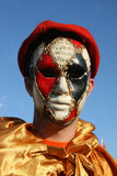 Mask. Montenegro Budva carnival mask people royalty free stock photos
