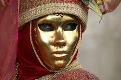 Mask. On Carneval in Venice, Italy