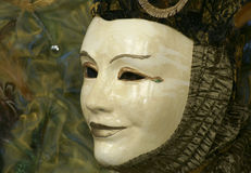 Mask. On Carneval in Venice, Italy Royalty Free Stock Photo