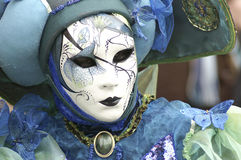 Mask. On Carneval in Vencie, Italy Royalty Free Stock Photos