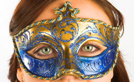 Mask. Carnival mask stock photography
