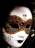 Mask. A luxury carnival mask from Venice, Italy Stock Photography