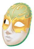 Mask. Venetian mask. Vector original image ready for download. Very detailed image Stock Images