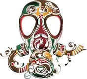 Mask Abstract Royalty Free Stock Photography