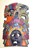 Mask of an ancient population of Central Mexico Royalty Free Stock Images
