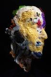 mask art recycling plastics objects 2 Stock Photo