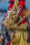 Mask attends at the Carnival of Venice Royalty Free Stock Photos