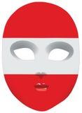 Mask Austria Royalty Free Stock Photography