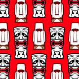 Mask background pattern Stock Images