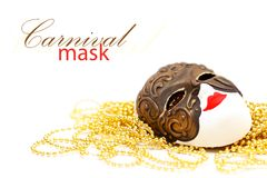Mask with bead Stock Photos