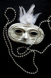 Mask and Beads Stock Photography