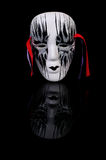 Mask on black Royalty Free Stock Photos