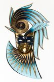 The Mask in blue and gold Royalty Free Stock Photos