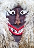 Mask of a Buso people at Hungary Royalty Free Stock Photo