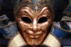 Mask - Carnival. A typical Mask - Carnival - Venice royalty free stock photos