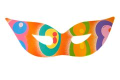 Mask of carnival Royalty Free Stock Photography