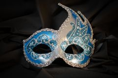 Venetian mask. Traditional venetian mask on a black background Royalty Free Stock Image