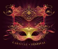 Mask Carnival Festival decoration Royalty Free Stock Photography