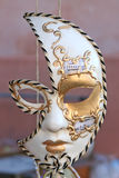 Mask of Carnival of Venice Stock Photo