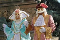 Mask of Carnival of Venice Royalty Free Stock Images