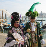 Mask - Carnival - Venice 2009 Stock Photos