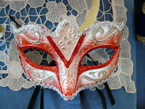 The Mask. The Carnival mask of Venice Royalty Free Stock Photo