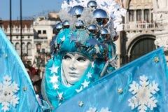Mask at Carnival in Venice Stock Photo
