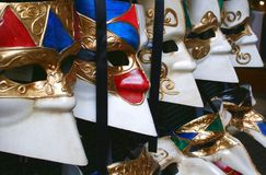Mask - Carnival - Venice - Italy. Carnival masks in Venice royalty free stock photo