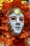 Mask - Carnival - Venice - Italy. Mask at the Carnival in Venice royalty free stock photography