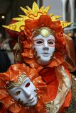 Mask - Carnival - Venice - Italy. Mask at the Carnival in Venice Royalty Free Stock Photos