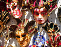Mask of Carnival of Venice. VENICE ITALY 06 12 2011: Mask of Carnival of Venice is an annual festival. Carnival ends with the Christian celebration of Lent Stock Image