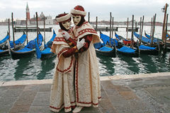 Mask - Carnival - Venice some pics from the fat tuesday in venice. Mask in venice carnival during the carnival in san marco square Stock Photography