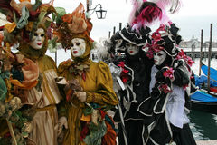 Mask - Carnival - Venice some pics from the fat tuesday in venice. Mask in venice carnival during the carnival in san marco square Royalty Free Stock Images