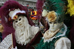 Mask - Carnival - Venice some pics from the fat tuesday in venice. Mask in venice carnival during the carnival in san marco square Stock Images