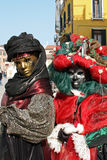 Mask - Carnival - Venice some pics from the fat tuesday in venice Stock Photos