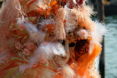Mask - Carnival - Venice some pics from the fat tuesday in venice Royalty Free Stock Photo