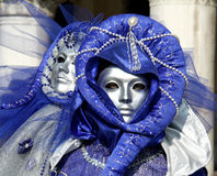 Mask - Carnival - Venice some pics from the fat tuesday in venice. Mask in venice carnival during the carnival in san marco square Royalty Free Stock Photography