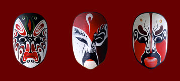 Mask of chinese opera Stock Image