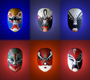 Mask of chinese opera Stock Photography